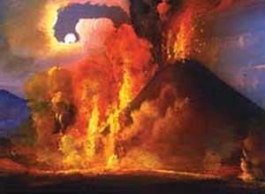 eruzione di vulcano di Adriana Pignatelli Mangoni