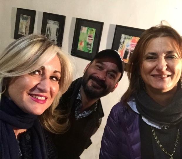 Con Annapaola Merone del Corriere - Maria Giovanna Villari- Fabio Finamore